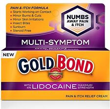 Gold Bond Pain & Itch Formula Cream with Lidocaine 1.75 Oz