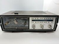 Vintage Realistic AM FM Clock Radio Chronomatic 9 Model No. 12-1477 Works