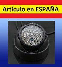 360º ILUMINACION 48 LED foco para CAMARA SEGURIDAD CCTV infrarrojos noche IR LUZ
