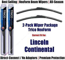 2pk Super-Premium NeoForm Wipers fit 1970-1972 Lincoln Continental 16190x2