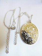 VTG Franklin Mint Diana & Charles The Royal Wedding Silver Pendant Necklace Mint