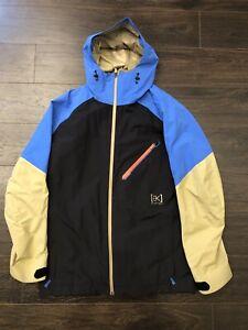 Burton AK Cyclic Gore-Tex Ski Snowboard Jacket Large Bluebird 2L
