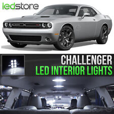 2015-2018 Dodge Challenger White Interior LED Lights Kit Package