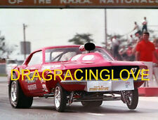 """Ohio"" George Montgomery ""427"" S.O.H.C. 1968 Ford Mustang Gasser Indy PHOTO!"