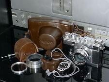 Fine Vintage Nikon SP 35mm Rangefinder Film Camera w/accessories.