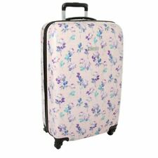 Nine West Suitcase 28-Inch Hardside Spinner Luggage Floral MSRP $360.00
