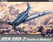 "Academy 1/48 USN Douglas SBD-2 Dauntless ""Midway"""