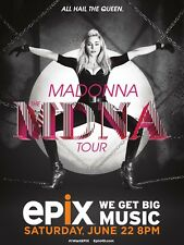 """Madonna MDNA Tour 16"""" x 12"""" Reproduction promo Poster Photo"""