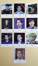 EXO Xiumin Fan meeting It's you fan-cafe Polaroid Set (10 pcs)