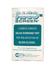 Alco Screen Alcohol Saliva Test CLIA Waived 24/Box