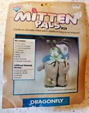 New Mitten Pals Dragonfly Craft Kit, Sewing Crafts Hand Made