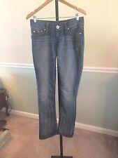 Guess Jeans Pismo Straight Leg Cotton Blend Jeans - 28