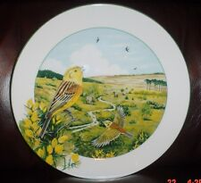 Royal Doulton THE HEATHLAND YELLOWHAMMER Collectors Plate