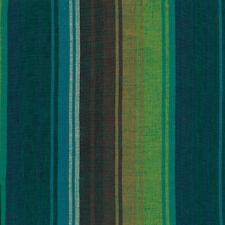 Kaffe Fassett Exotic Stripe Emerald Woven Cotton Fabric By The Yard