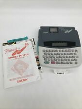 Brother P Touch Extra Pt 310 Label Thermal Printer Tested Working Used