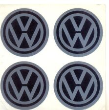 4 x 40 mm volkswagen  vw centre , hub ,cap ,alloy, badges . decal  . stickers