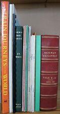 s1744) Sellos de correos de ferrocarril T.P.O Gran Bretaña Biblioteca de 16