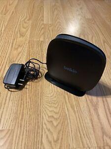 Belkin N450 DB Wireless N Router Model F9K1105V2 for WiFi Power & Passcode Inclu