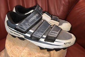 Shimano SH-M121W SPD Cycling Shoes Women's Size 41-US 7.5 Grey/Silver