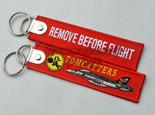 VFA-31 TOMCATTERS Fighter Key Chain Aviation Fans Gift Collection Key Rings