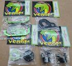 Venom parts lot!  AX10 alum C-hub gear adaptor motor plate batt mount (lot v102)