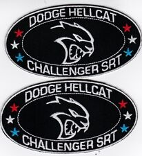 DODGE CHALLENGER SRT 6.4L HEMI 392 V8 SEW//IRON ON PATCH EMBROIDERED BADGE MOPAR