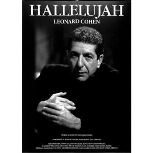Leonard Cohen - Hallelujah - Noten für Klavier, Gesang und Gitarre