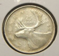 1954~~CANADIAN 25 CENTS~~SILVER BEAUTY~~RARE KEY DATE~~CANADA
