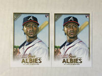 OZZIE ALBIES LOT OF 2 2018 Topps Gallery ROOKIE BASE RC's #67! CHECK MY ITEMS!