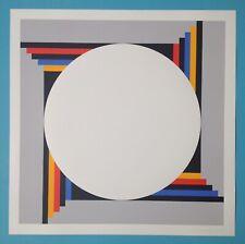 Verena LOEWENSBERG Sérigraphie 1973 signée vasarely cinétique Op Art 60x60 1500€
