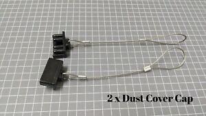 2 x Dust Cap Black Anderson Plug Cover Style Connectors 50AMP Battery Caravan
