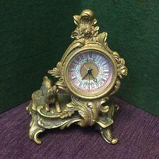 1904 St. Louis World's Fair Clock Rare, Original Gilt