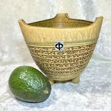 New listing Tokoname Pottery Tripod Footed Pot Planter Bonsai Ikeba Mid Century Mcm Vintage