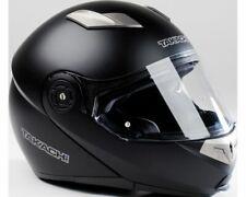 Flip up Helmet, Scooter, Motorcycle Helmet Takachi TK380 Black Matte - Size