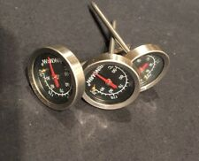 Brinkmann Stainless Steel BBQ Meat Thermometers, 3 Pack Model 812-9224-S