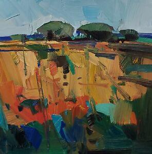 JOSE TRUJILLO Oil Painting IMPRESSIONISM CONTEMPORARY MODERN LANDSCAPE ARTIST