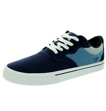 Supra Axle Sneakers In Slate Blue/Navy-White Skate Vulcanized Shoes Size 13
