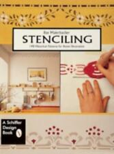 STENCILING 140 HISTORICAL PATTERNS FOR ROOM DECORATION  ILSE MAIERBACHER