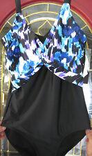 Ladies Swimsuit SLENDERIZE, LOSE A SIZE! size 8 Slimming Swim suit $70. Retail!
