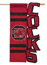 South Carolina University Gamecocks Decorative Flag NCAA  College Football