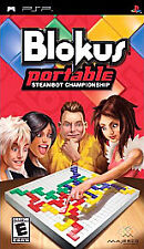 Blokus Portable: Steambot Championship Sony PSP COMPLETE VIDEO GAME