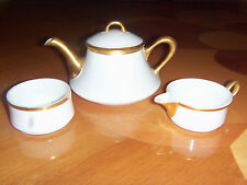 LIMOGES PORCELAIN B&Co FRANCE 3 piece TEA SET.