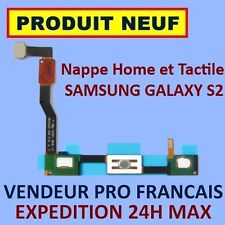✖ NAPPE BOUTON HOME ET TACTILE SAMSUNG GALAXY S2 SII i9100 ✖ FLEX CABLE ✖ NEUF