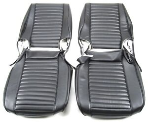 JEEP 1976-86 CJ LOW BACK BUCKET SEATS UPHOLSTERY KIT