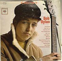 Bob Dylan, Self Titled, 1962 Columbia 2-EYE, CS 8579 Vinyl LP - RARE MISPRINT!!