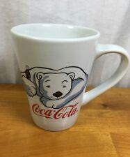 Coca-Cola Polar Bear Mug Paw Print Gibson Cup Mug White Coffee Tea