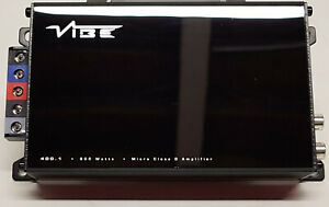 VIBE POWERBOX400.1M-V7 400 Watt RMS MICRO AMPLIFIER USED IN GOOD WORKING ORDER