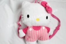 "Sanrio Hello Kitty Plush 14.5"" Backpack Back Pack Carrying Soft Stuffed Big Head"
