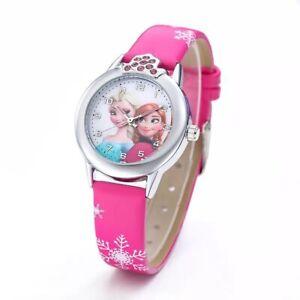 Disney Frozen Elsa & Anna Girls Kids Children Gift Wrist Watches - Choose Colour