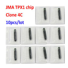 10PCS KEY CHIP FOR JMA TPX1 TPX 1 CLONE 4C CHIP COPY 4C glass TRANSPONDER CHIP